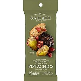 Sahale Snacks Pomegranate Flavored Pistachios Glazed Mix, 1.5 Ounces (Pack of 18)