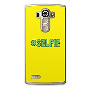 Selfie LG G4 Transparent Edge Case - Hashtag Selfie
