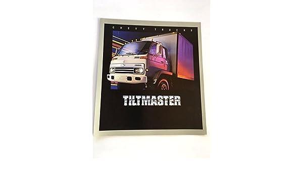Amazon.com : 1984 Chevrolet Tiltmaster Truck Original Sales Brochure - Isuzu Turbo Diesel : Everything Else