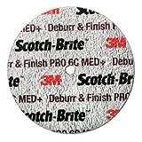 3M8482; Scotch-Brite8482; Deburr and Finish PRO Unitized Wheel DP-UW 3'' x 1'' Ceramic Grain MED