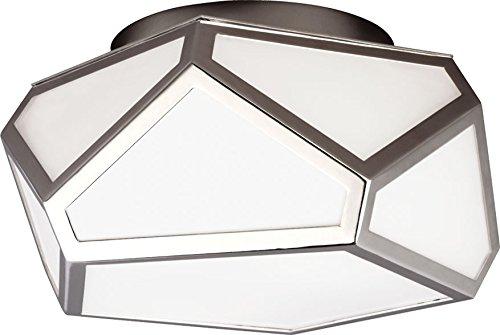 Feiss FM447PN 2-Light Flush Mount Light Fixture