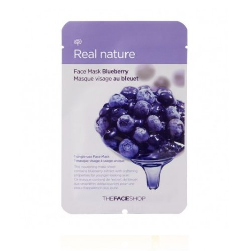 3-Pack-THE-FACE-SHOP-Real-Nature-Mask-Blueberry