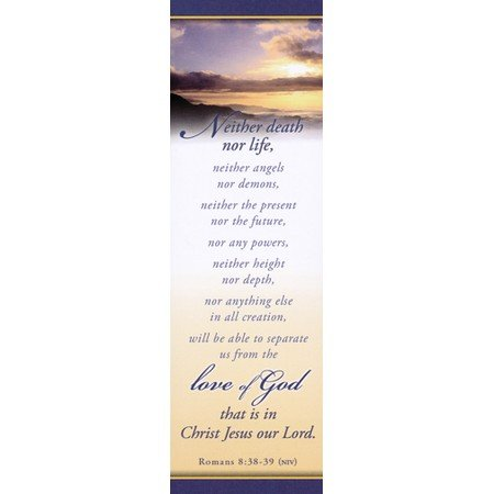Bookmark Package - Nothing Can Separate Us From The Love Of God (Romans 8:38-39) Bookmarks (Package of 25)