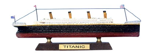 Hampton Nautical  RMS Titanic Cruise Ship, Limited Edition, - Built Model Pre
