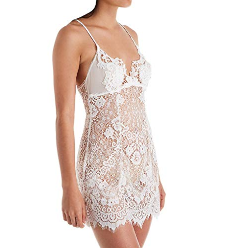 In Bloom by Jonquil Addicted to Love Lace Chemise (ATL010) L/Ivory