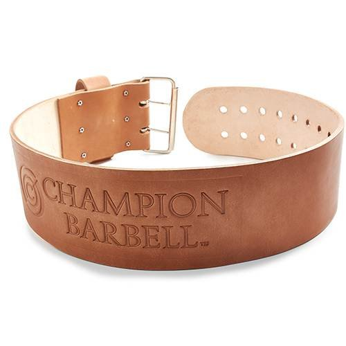 Champion Barbell 10cm Wide Official Weight Belt (Small)