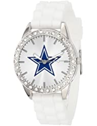 Game Time Womens NFL-FRO-DAL Frost Watch - Dallas Cowboys