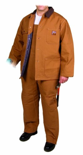 Steiner 10171 30-Inch Chore Coat, Thermal Tuff Blanket Lined Button Brown, (Brown Blanket Chore Coat)