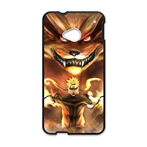 Happy Naruto monster and boy Cell Phone Case for HTC One M7