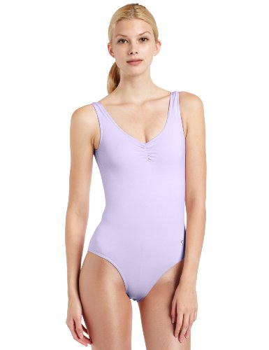 - Sansha Women's Sahara Scoop Neck Tank Leotard, Lavender, Small 3