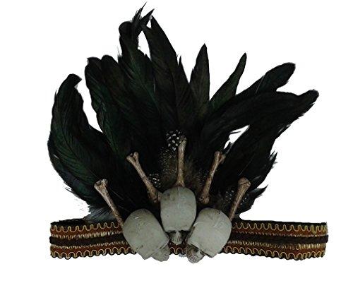 Faerynicethings Adult Size Voodoo Headband - Headpiece - Costume Accessory