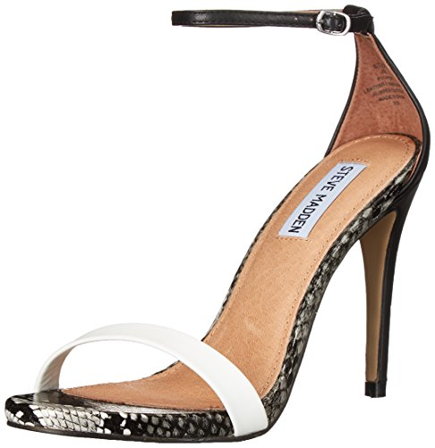 Delle Bianco Sandalo Steve Madden Stecy Vestito Donne Multi vvzZAq