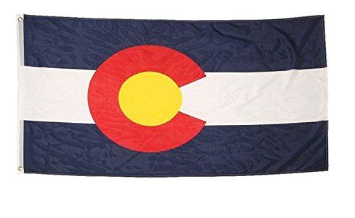 5FT Colorado Flag Naisidier 1 Drapeau de lEtat du Colorado 3