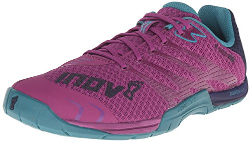 Inov-8 Women's F-Lite 235 Fitness Shoe, Purple/Teal/Navy, 8.5 B US