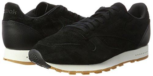 gum black Leather Sg Reebok Classic Baskets Homme chalk Noir 8xSYqwx