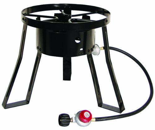 Masterbuilt MB15 15-Inch LP Cooker Stand with Cast Iron Burner (Outdoor Propane Burner With Stand compare prices)