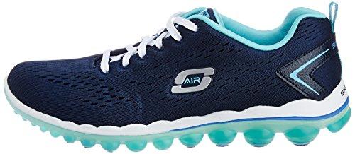 Bleu High 0 Femme Baskets nbsp;aim Skechers Basses Air 2 Blau nvlb ZqEwc8I