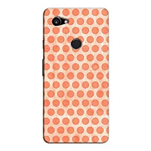 Cover It Up - Pink Polka Pixel 2 XL Hard Case
