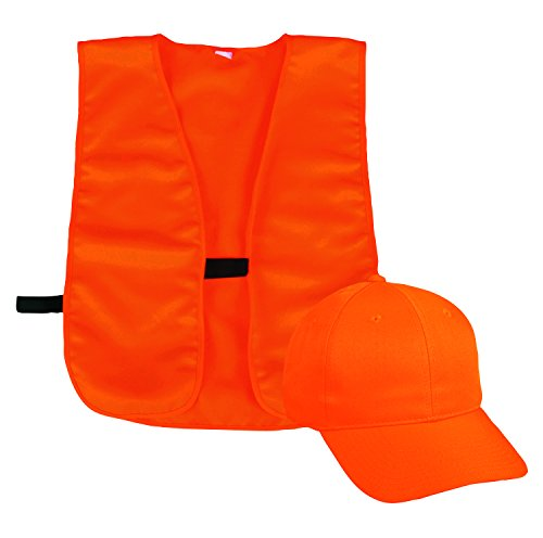 Outdoor Cap Youth Blaze Vest & Cap Combo (Best Orange Hunting Vest)