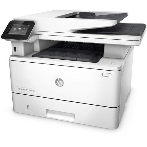 HP Laserjet Pro M426fdw Multifunction Wireless Laser Printer with Duplex Printing (F6W15A) (Renewed) (Wireless Laser Printer 3 In 1)