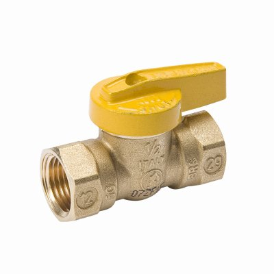 B&k Brass Handles (B&K 110-524 Gas Ball Valve, Lever Handle, Brass, 3/4-In. - Quantity 10)