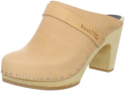 Swedish Dress (swedish hasbeens Women's Slip In Classic Mule,Natural,8 M US)