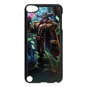 ipod 5 phone case Black Twisted Fate league of legends SDF4533424