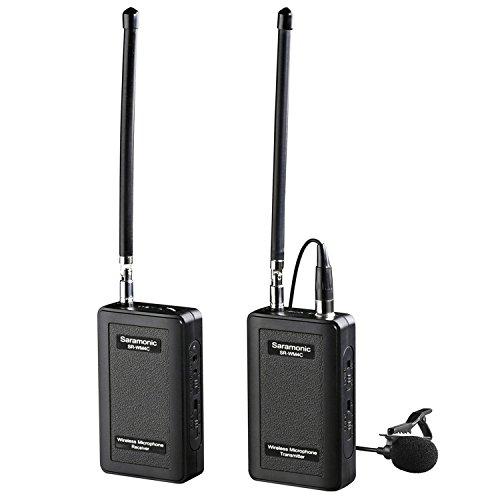 Saramonic SR-WM4C Wireless Lavalier Microphone System for...