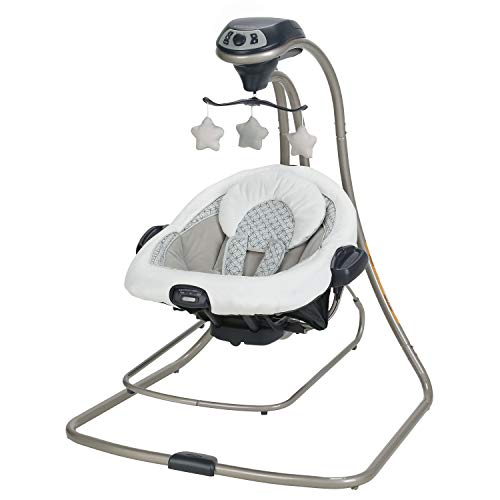 Graco DuetConnect LX, McKinley (Best Swing Bouncer Combo)