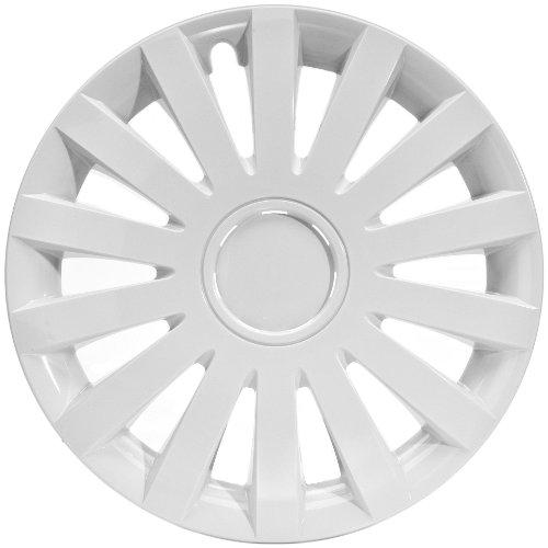 16 white hubcaps - 7