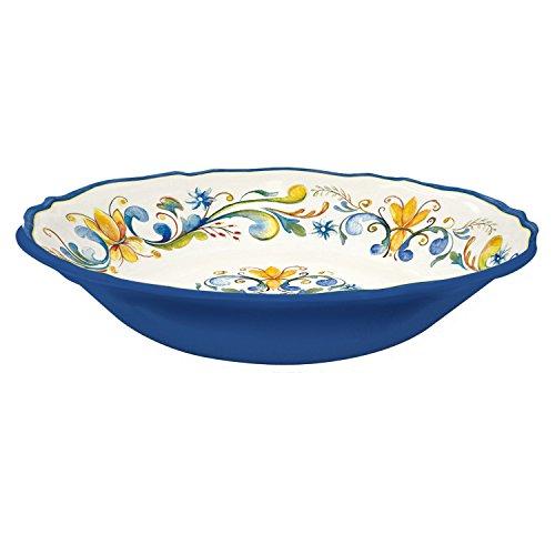 Le Cadeaux Melamine Floral Harvest - Salad Bowl