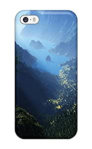 First-class Case Cover For Iphone 5/5s Dual Protection Cover Mountain View Nature Other