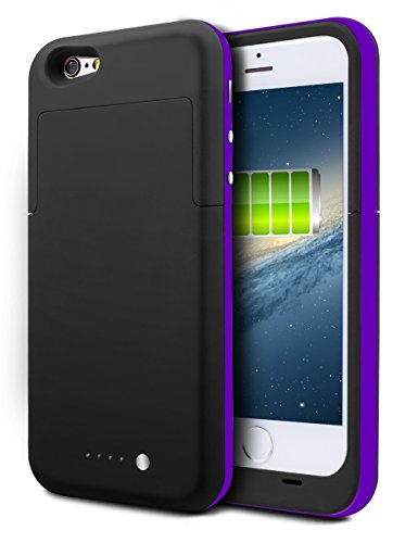 3800mah External Battery Case iPhone 6/ iPhone 6s (Black) - 9
