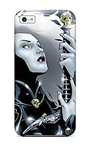 AnnaSanders QxgCGnE9763rYKKI Case For Iphone 5c With Nice Lady Death Comics Anime Comics Appearance