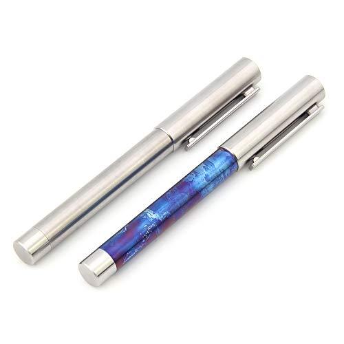 TITANER Titanium Tactical Pen Signature Pen Icebreaker Defense Pen Broken Window Titanium Pen (Blue) by TITANER (Image #1)