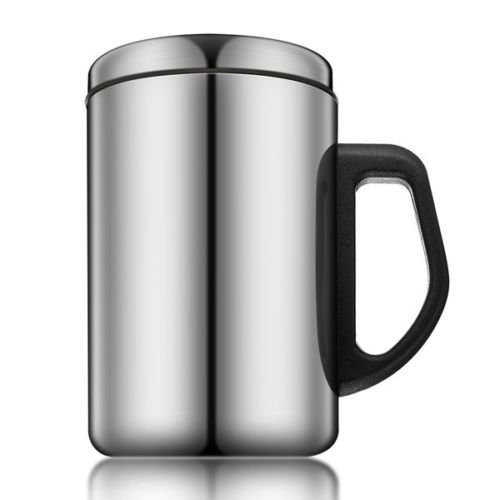 Shalleen New 300ml Stainless Steel Travel Coffee Mug Tea Cup Insulated Double Wall