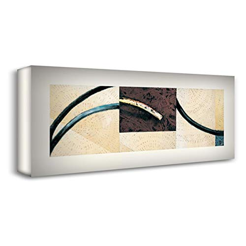 Line and Verse #II6 22x11 Gallery Wrapped Stretched Canvas Art by Holland, Cynthia