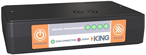 KING UC1000 Universal Controller to Make Quest Antenna Compatible with DIRECTV, Bell, or Dish Receivers by KING