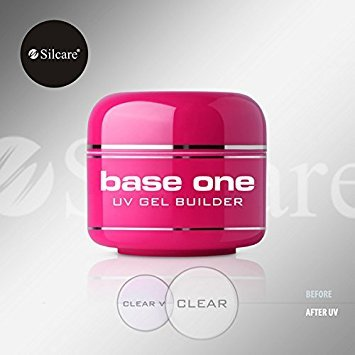 Base One Clear 30g UV Gel Nails Acid Free Builder Silcare