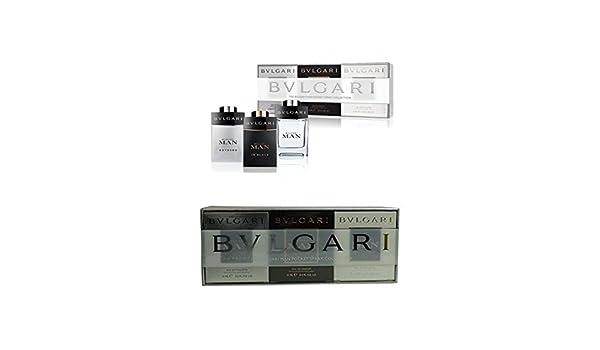 Amazon.com : BVLGARI Man Pocket Spray Collection Gift Set, 1.45 Ounce : Beauty