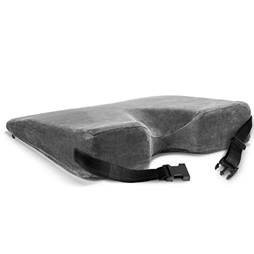 Wedge Cushion With Strap Car Seat Wedge 3 Inch Thick Seat