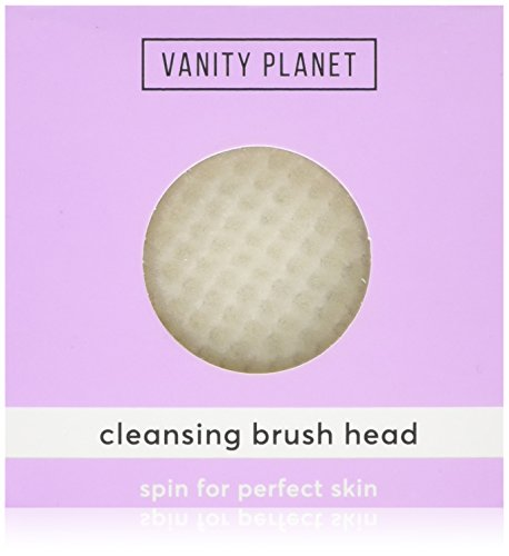 Price comparison product image Vanity Planet Replacement Cleansing Brush for Spin for Perfect Skin, 0.05 Pound