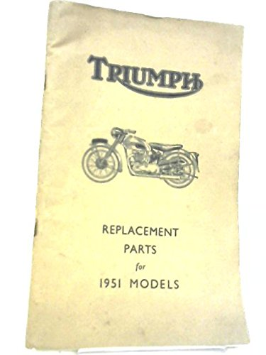Triumph replacement parts for 1951 models