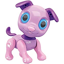 Robot Dog Toys-Interactive Smart Puppy-Electronic Intelligent Pocket Pet Dog-LED Discoloration Eyes Touch Function Cute Toy (C, Robotic Dog)