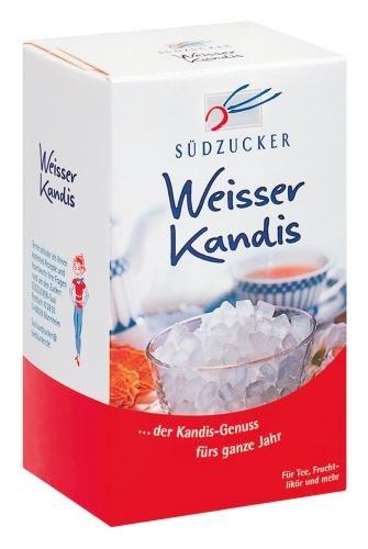 Südzucker Kandiszucker weiß, 12er Pack (12 x 500 g)