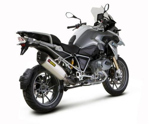 Motorcycle Exhaust Remus - Akrapovic - S-B12SO10-HAAT - Slip-On, Oval-Shape Titanium Muffler