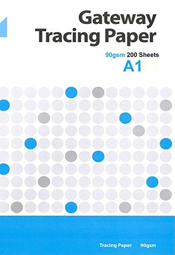 Gateway A2 90 GSM 250 Sheets Natural Tracing Paper