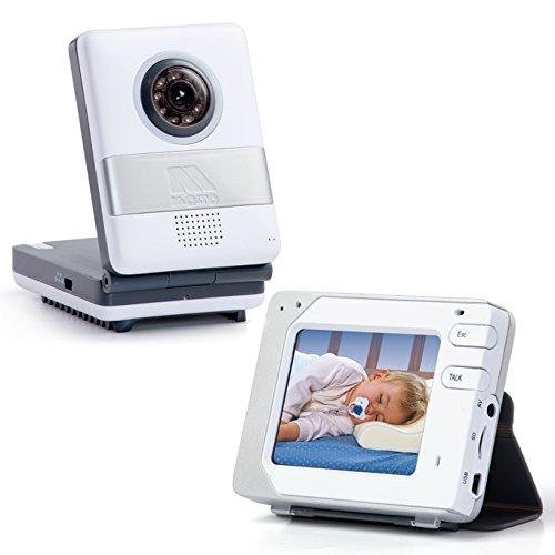 Moltó 12732 – Vigilabebés con pantalla táctil, color blanco