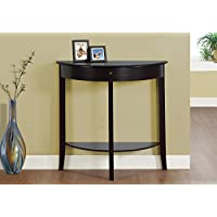 Monarch I 3128 Hall Console Accent Table, 31, Dark Cherry