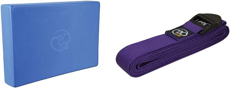 Purple Fitness Mad Hi-Density Yoga Brick